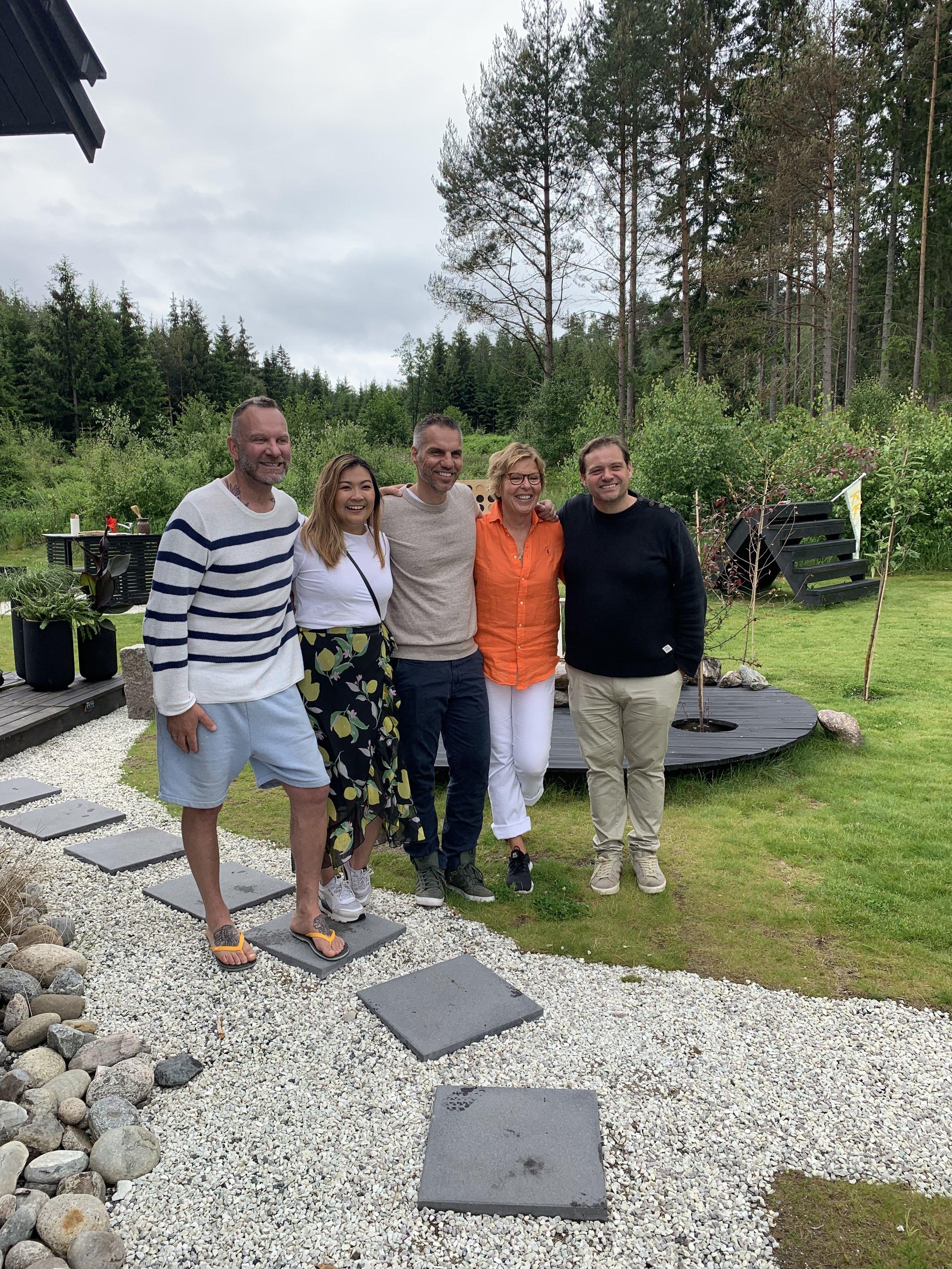 Takk for besøket: Thuy, Espen & Wenche