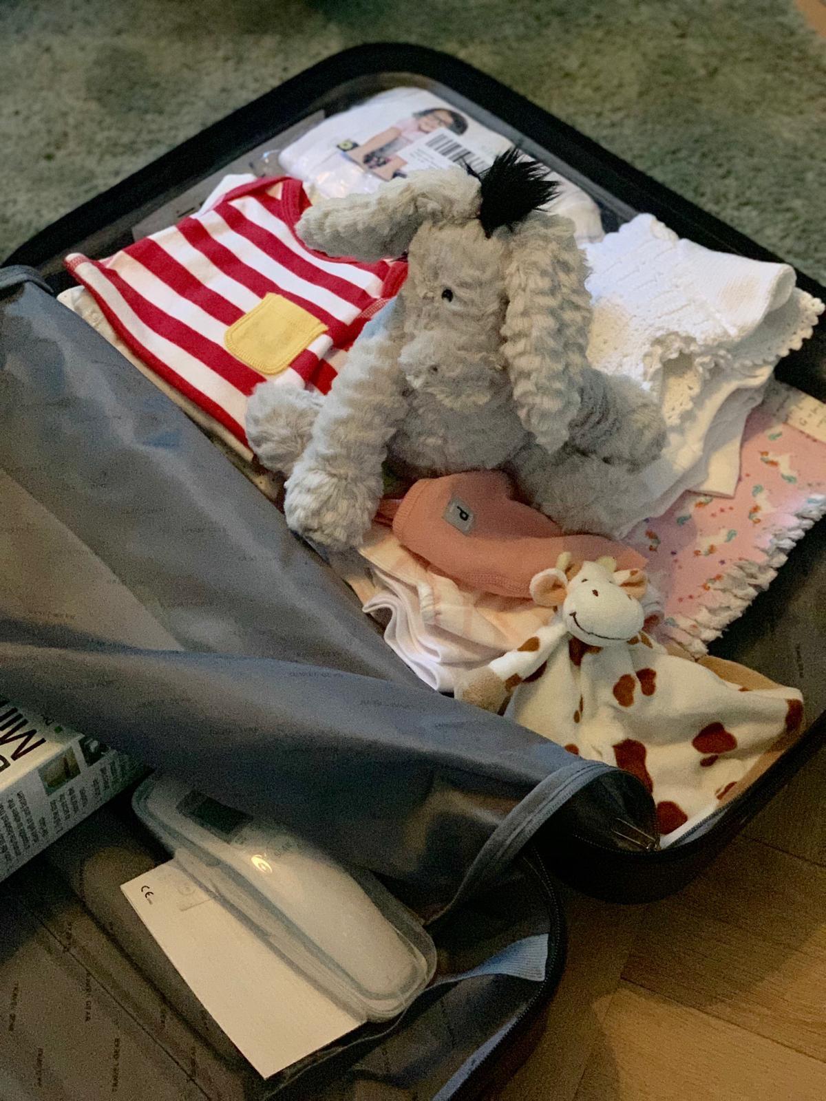 Kofferten er pakket og klar.