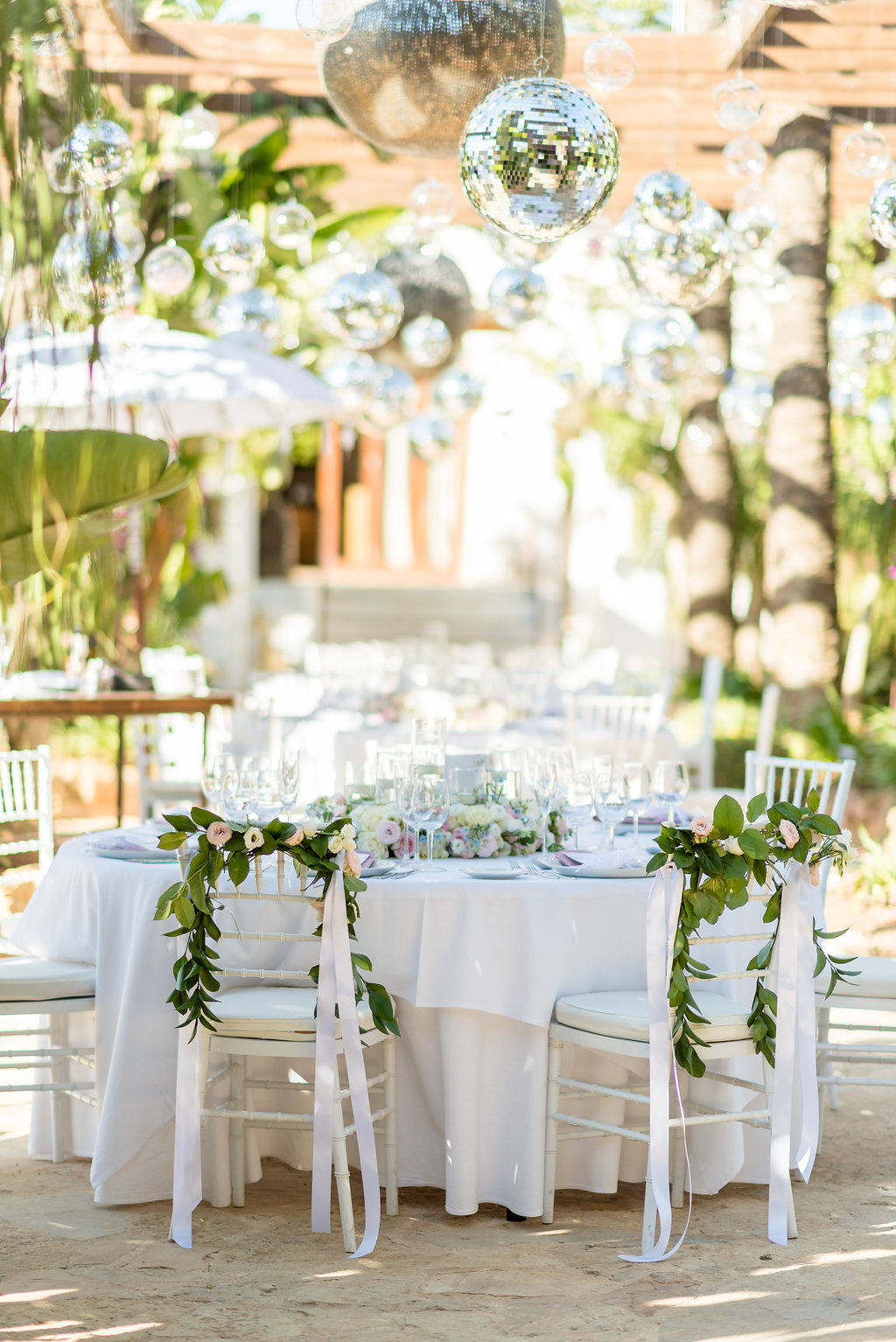 agroturismo wedding tables, ibiza wedding