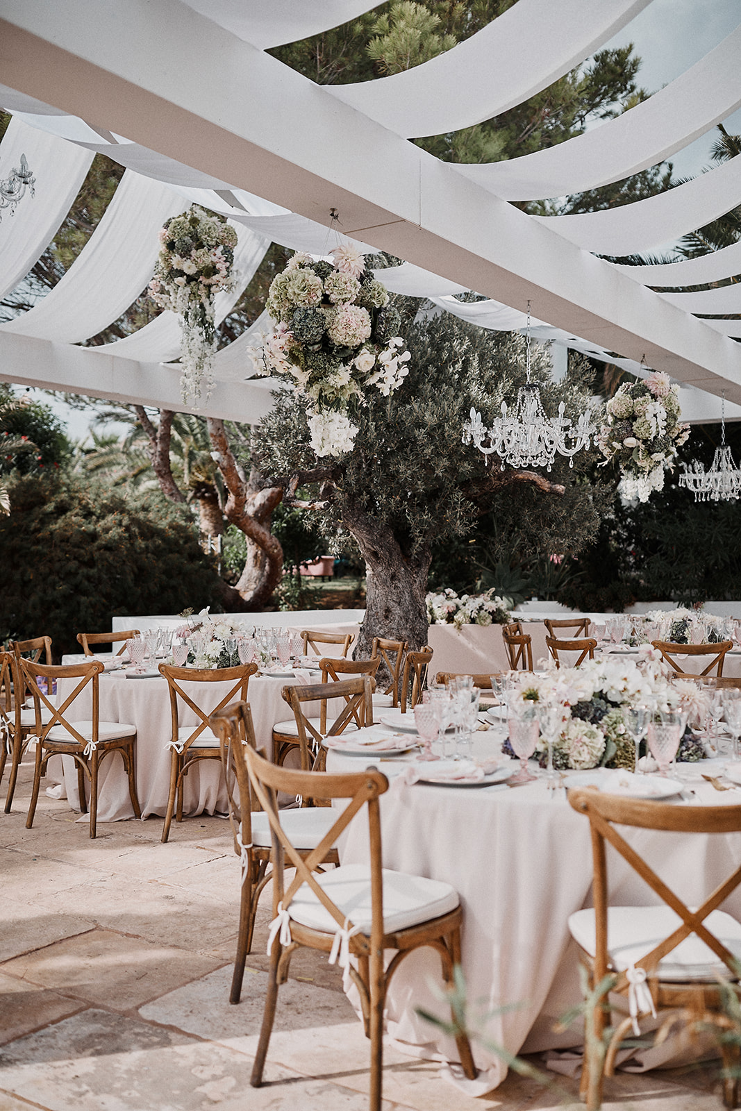 ibiza wedding tables