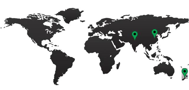New Zealand Global Map.Wool Services International