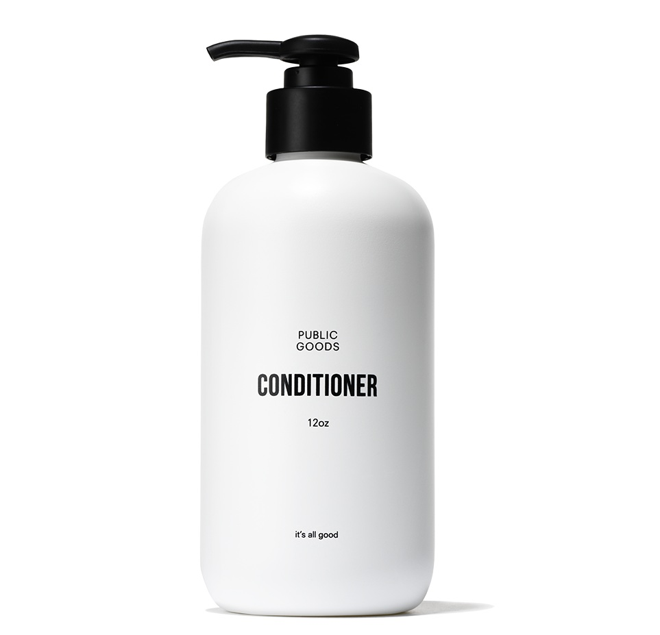 Conditioner - Description: We've crafted our conditioner to deeply hydrate and protect hair from environmental damage using all natural ingredients and a carefully selected blend of essential oils. Hair is noticeably softer and more manageable with a gentle citrus scent - a blend of fresh grapefruit, juicy mandarin, mediterranean herbs and wood - derived from its natural active ingredients.