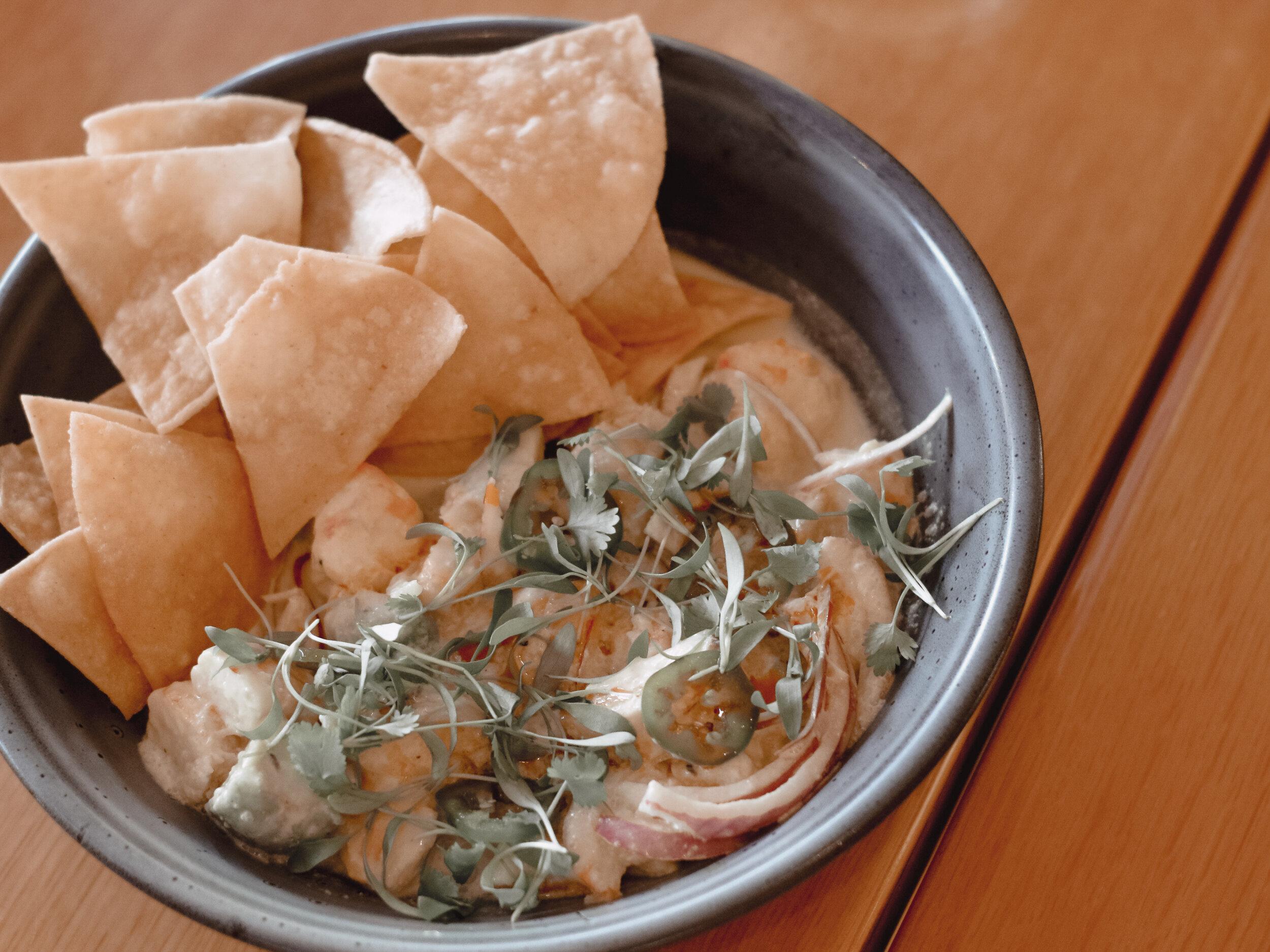 Eats Kitchen & Bar Irvine Shrimp Ceviche | AMANDANHAMMOND.COM