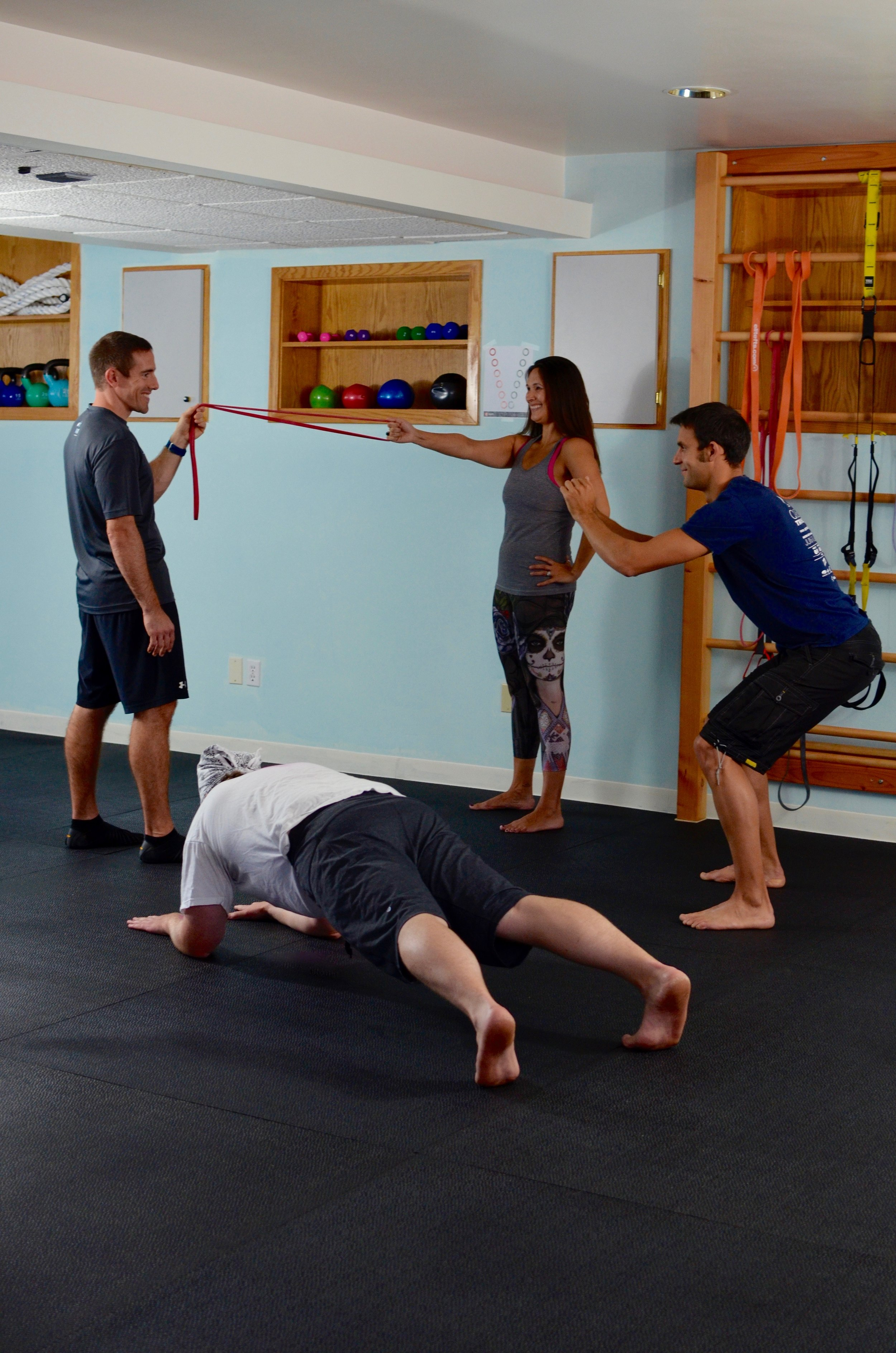 If you're not into one-on-one training, Matrix PErsonalized Fitness offers small group classes at affordable prices in East Greenwich, RI.