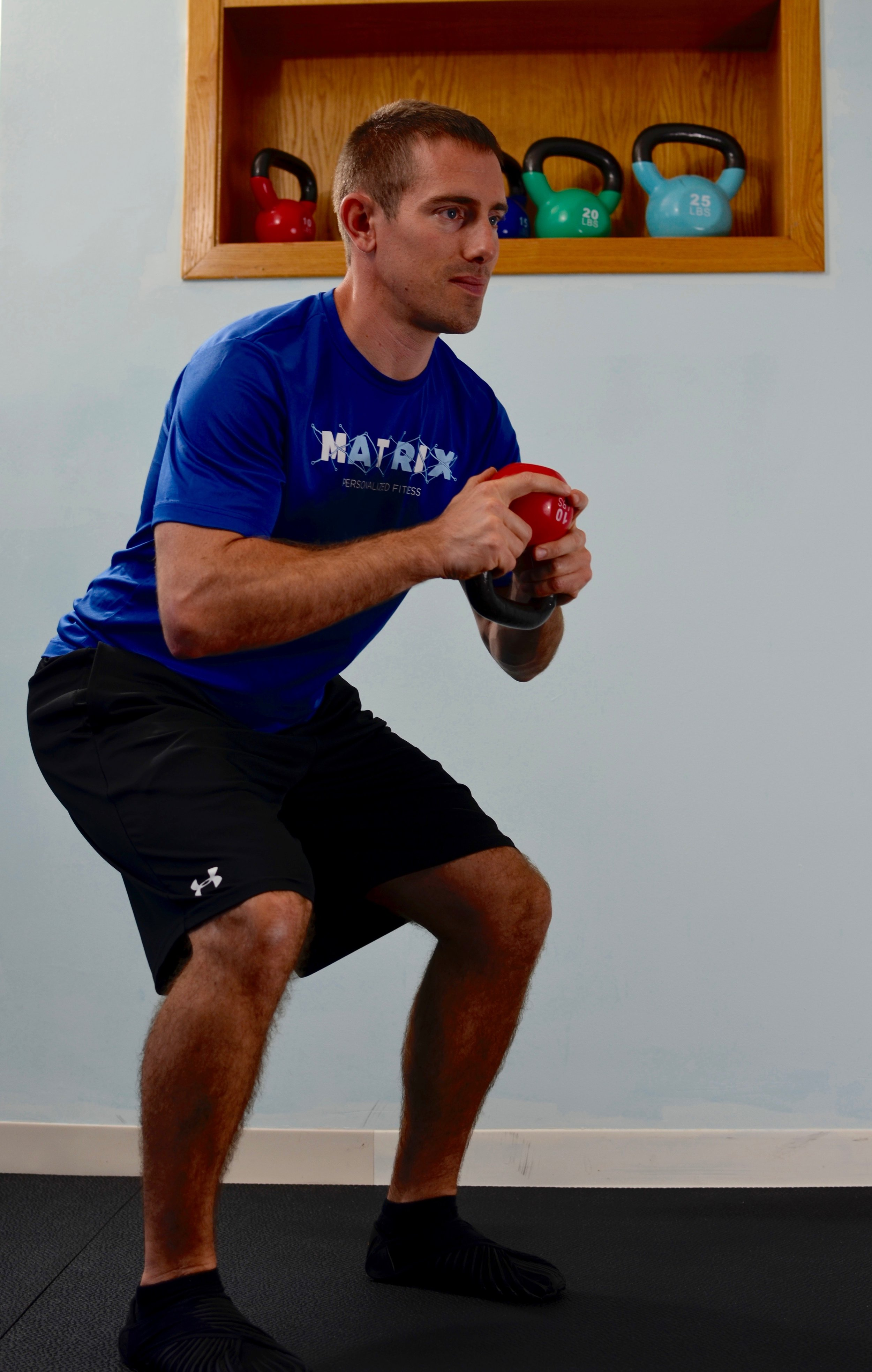 Shane from Matrix Personalized Fitness in East Greenwich specializes in one-on-one training to help you lose weight and change your body.