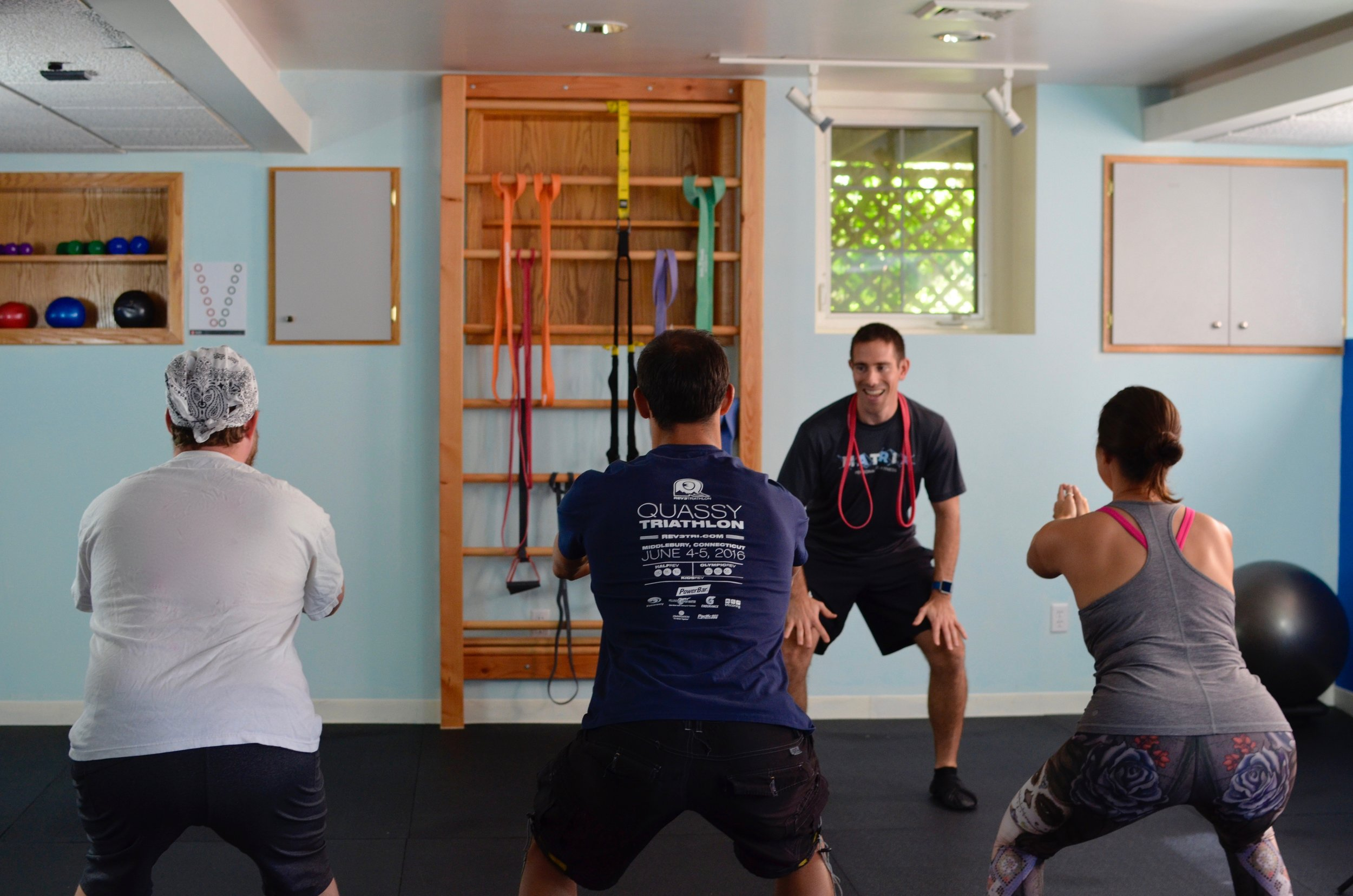 Group Training can help any athlete in Rhode Island improve their performance.
