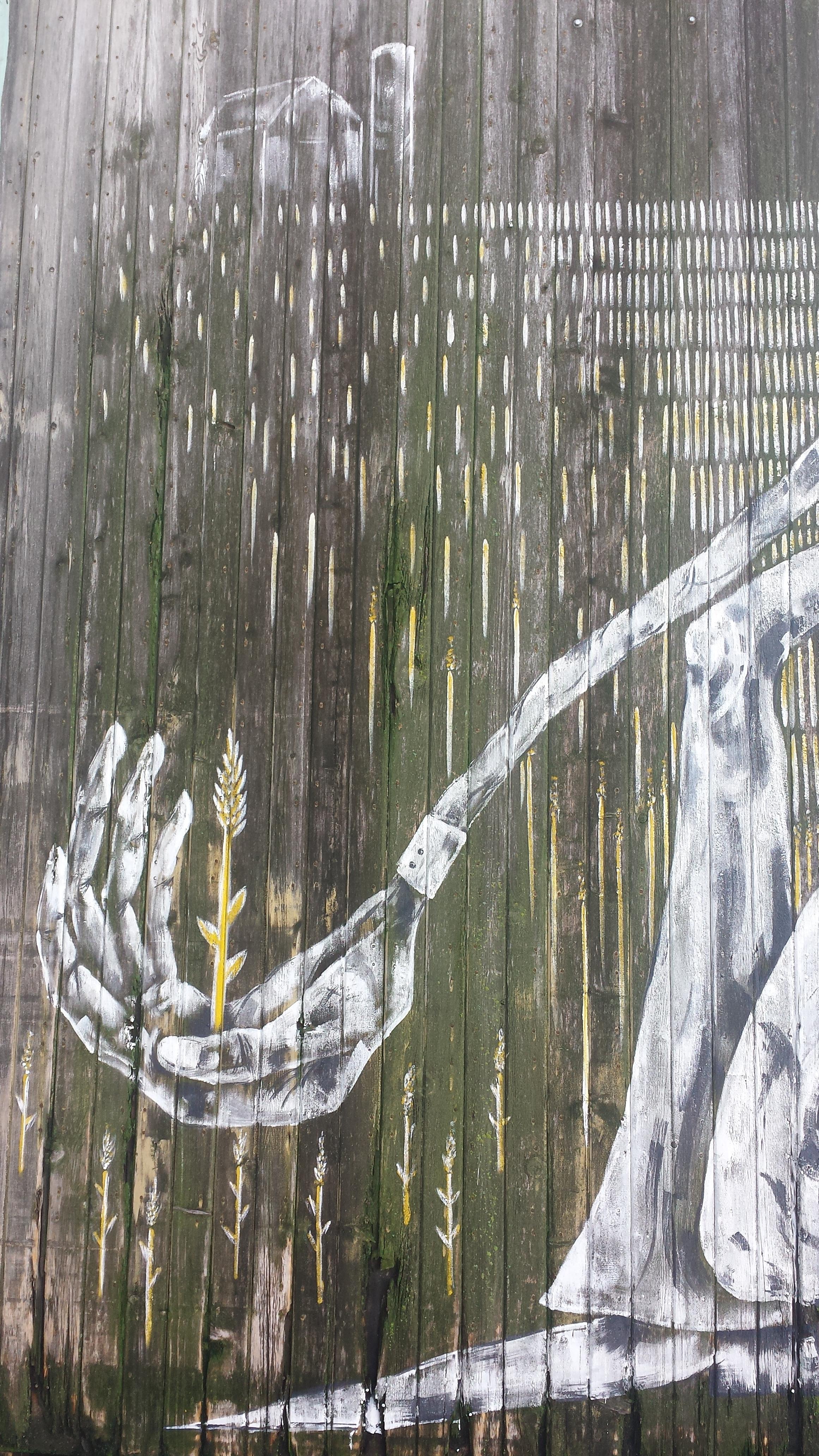 October 2016: Reedsburg Farmer's Co-op Mural