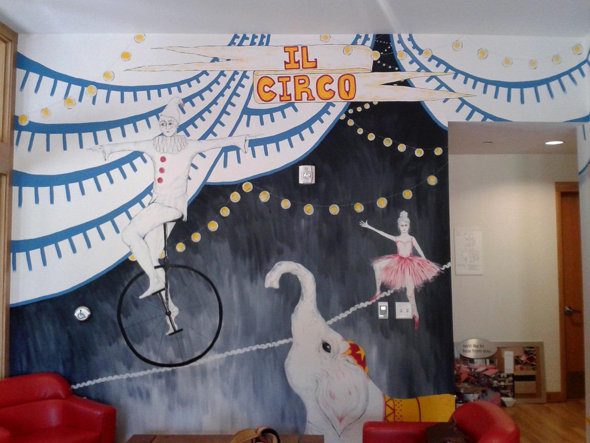 August 2013: Caffe Circo Mural