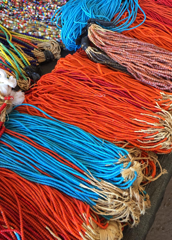 African beads  Photo: Lynda Churilla