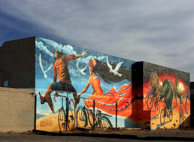Joe Pagac Mural, Tucson  Photo: Lynda Churilla