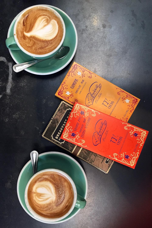 Almond Cappucinno & Chocolate, Times Market café  Photo: Lynda Churilla