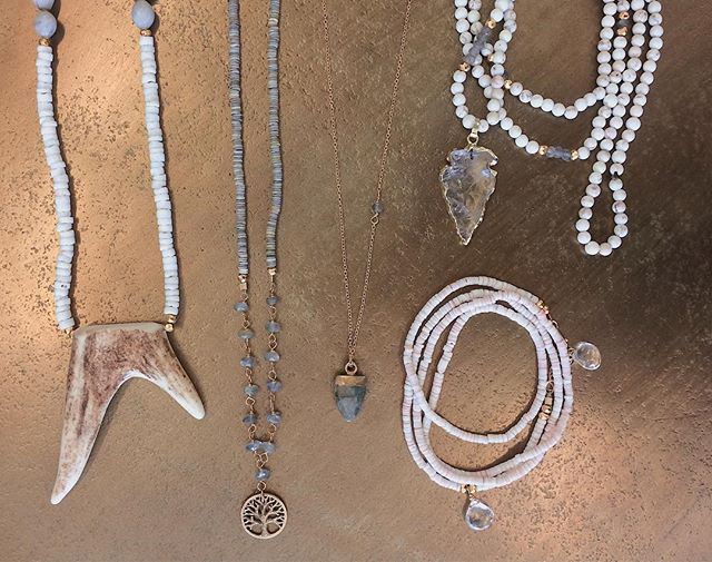 Here are just a few of our favorites by the lovely @amydigregorio !! Swing by the showroom to see more of her collection ✨ . . . . . . #millworkssb #sbmillworks #santabarbara #santabarbarashopping #amydigregorio #santabarbarajewelry #localjeweler #shoplocal