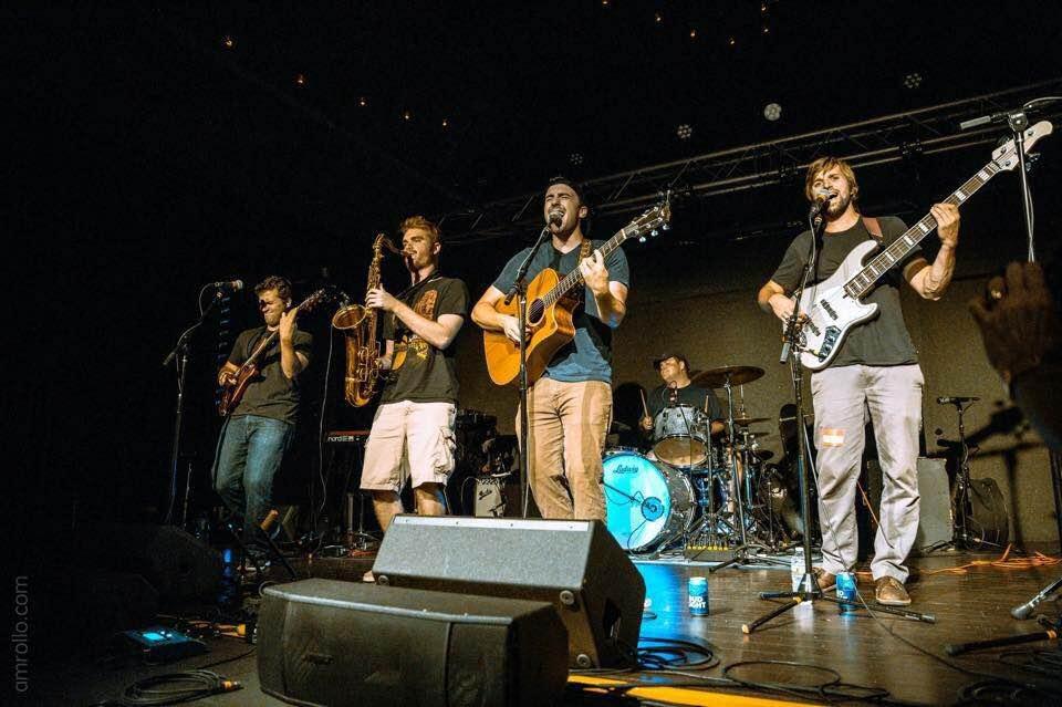 Brad Moreno, Dan Felix, Chris Ballerini, Tommy Yannopolous (left to right), Tyler Davis (back)