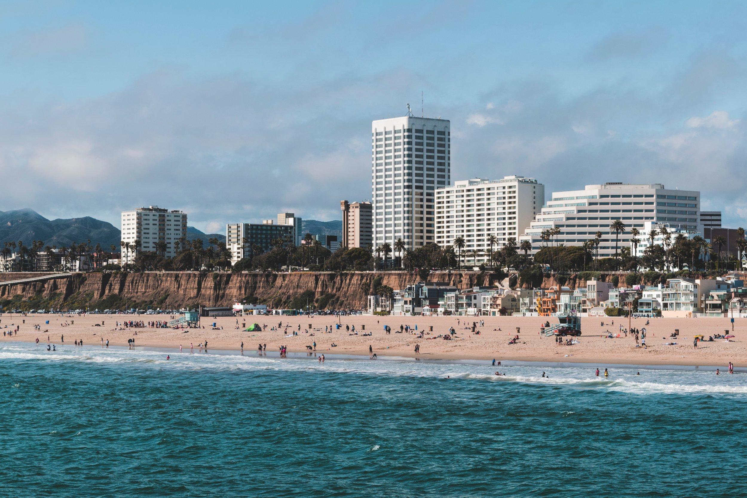 Santa Monica Pier (photo: Cédric Dhaenens)