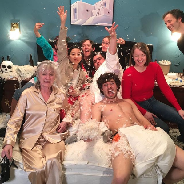 Staying out of the shit bath (post shoot for 'Needle and Thread'), photo: @agesandages
