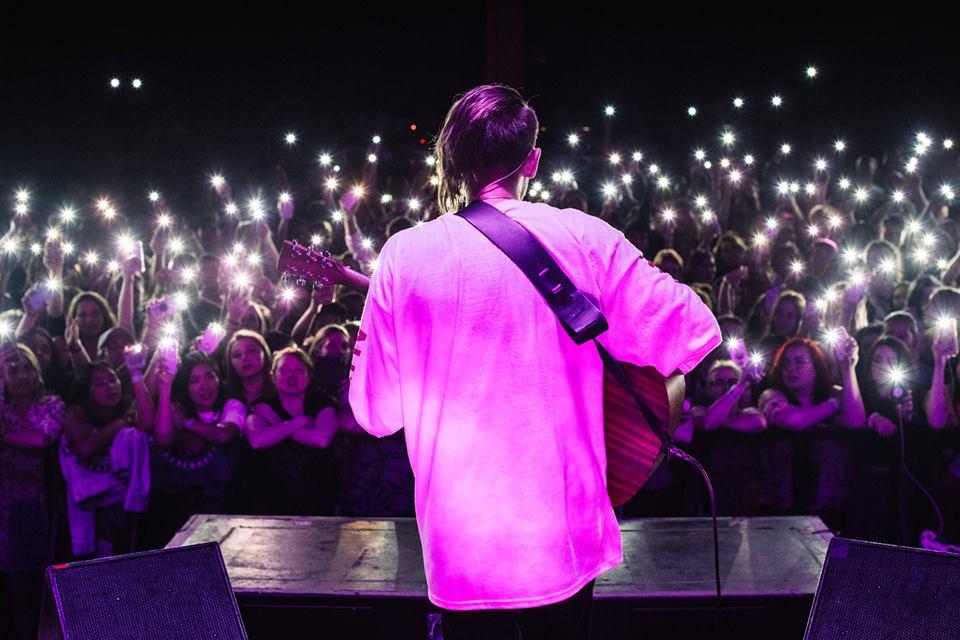 All Time Low Tour - Chico, CA (pic: @casenruiz)