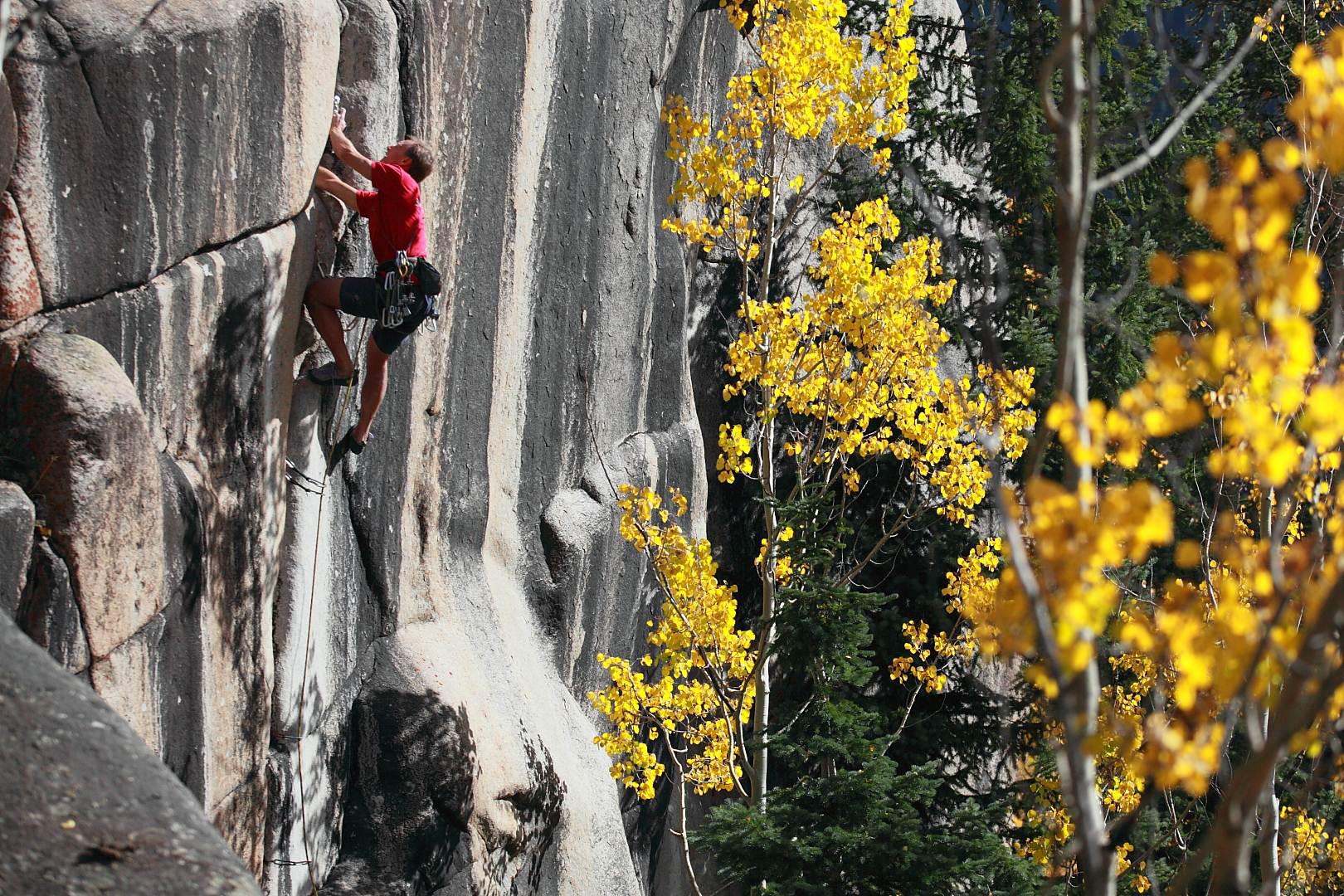 Rock climbing Outrageous Overhangs