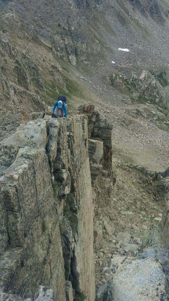 Climbing the Williams Range (Andrew Larson photo)
