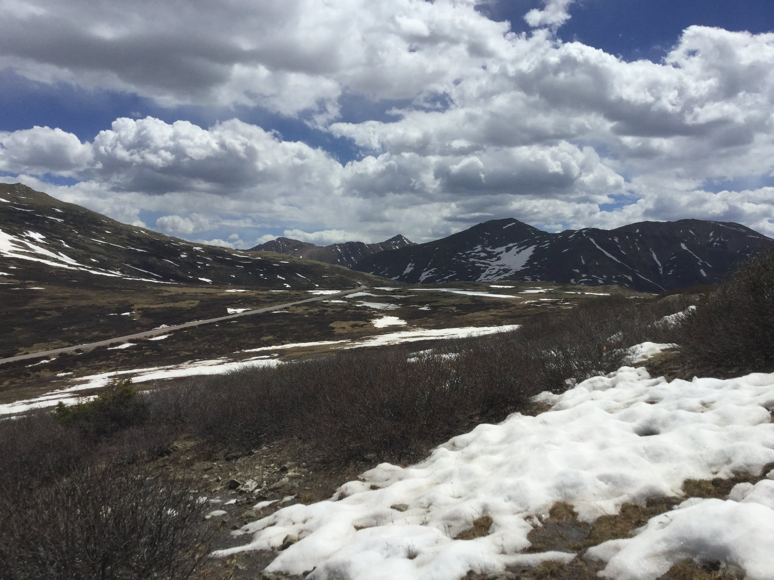 2018 snowpack early June