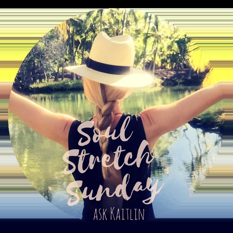 Kaitlin Robinson Light Coach Soul Stretch Sunday Series