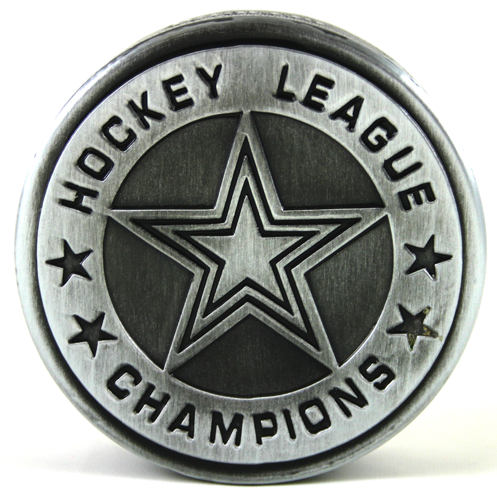 Pewter Hockey Puck