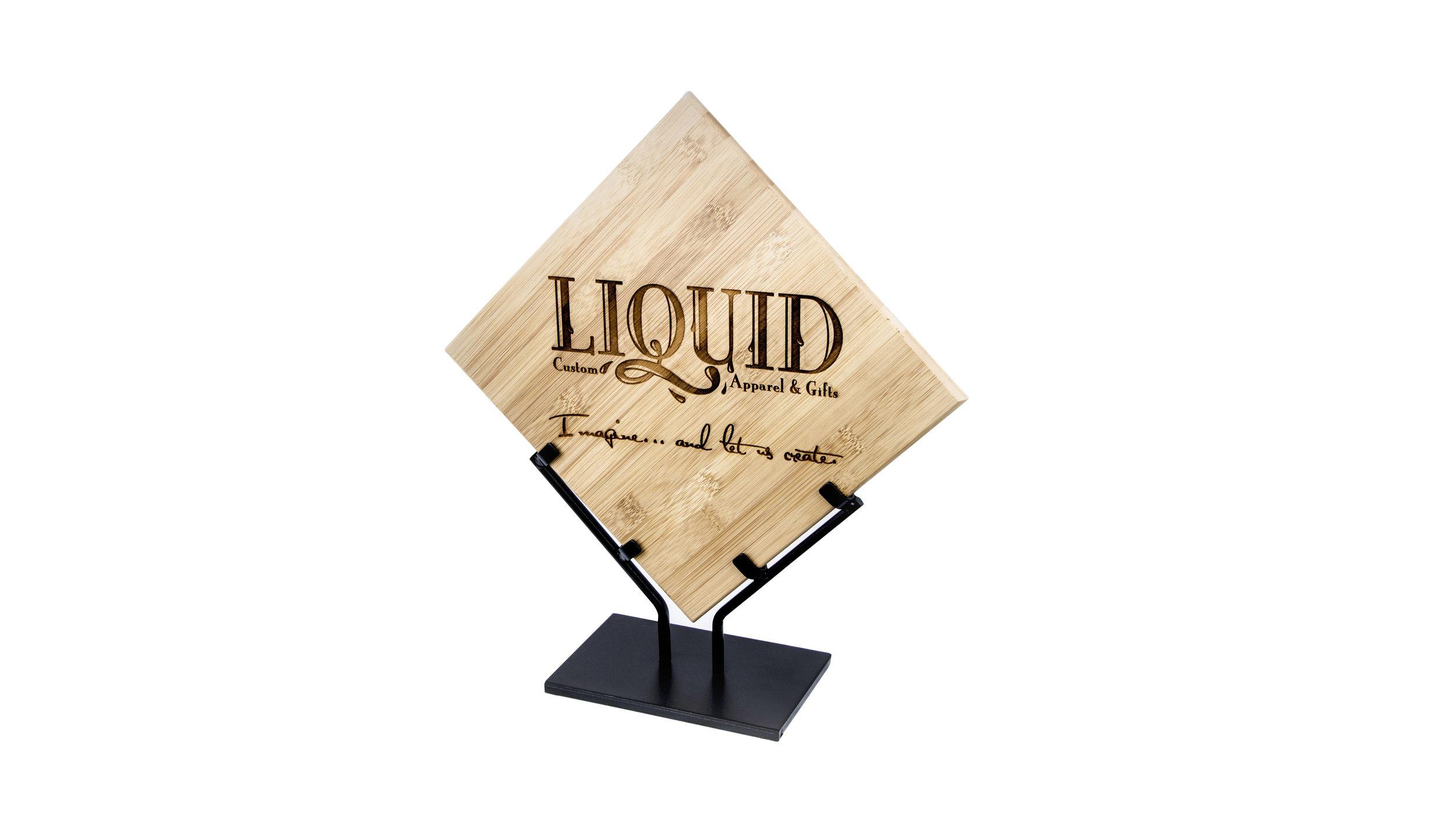 Bamboo Award Plaque