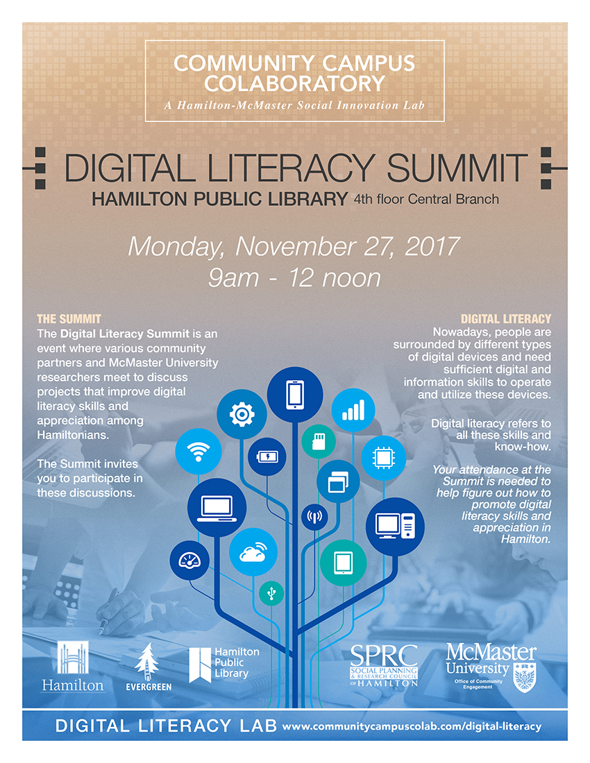 Click to Register for the Digital Literacy Summit on November 27th, 2017!