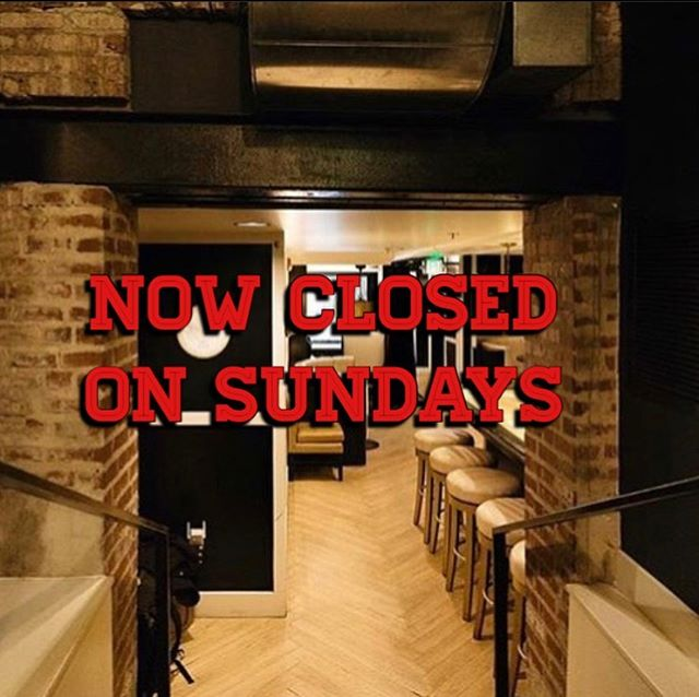 We are now closed on Sunday! Thank you for an amazing weekend Denver! #Cheers #SteEllie #meetonplatte