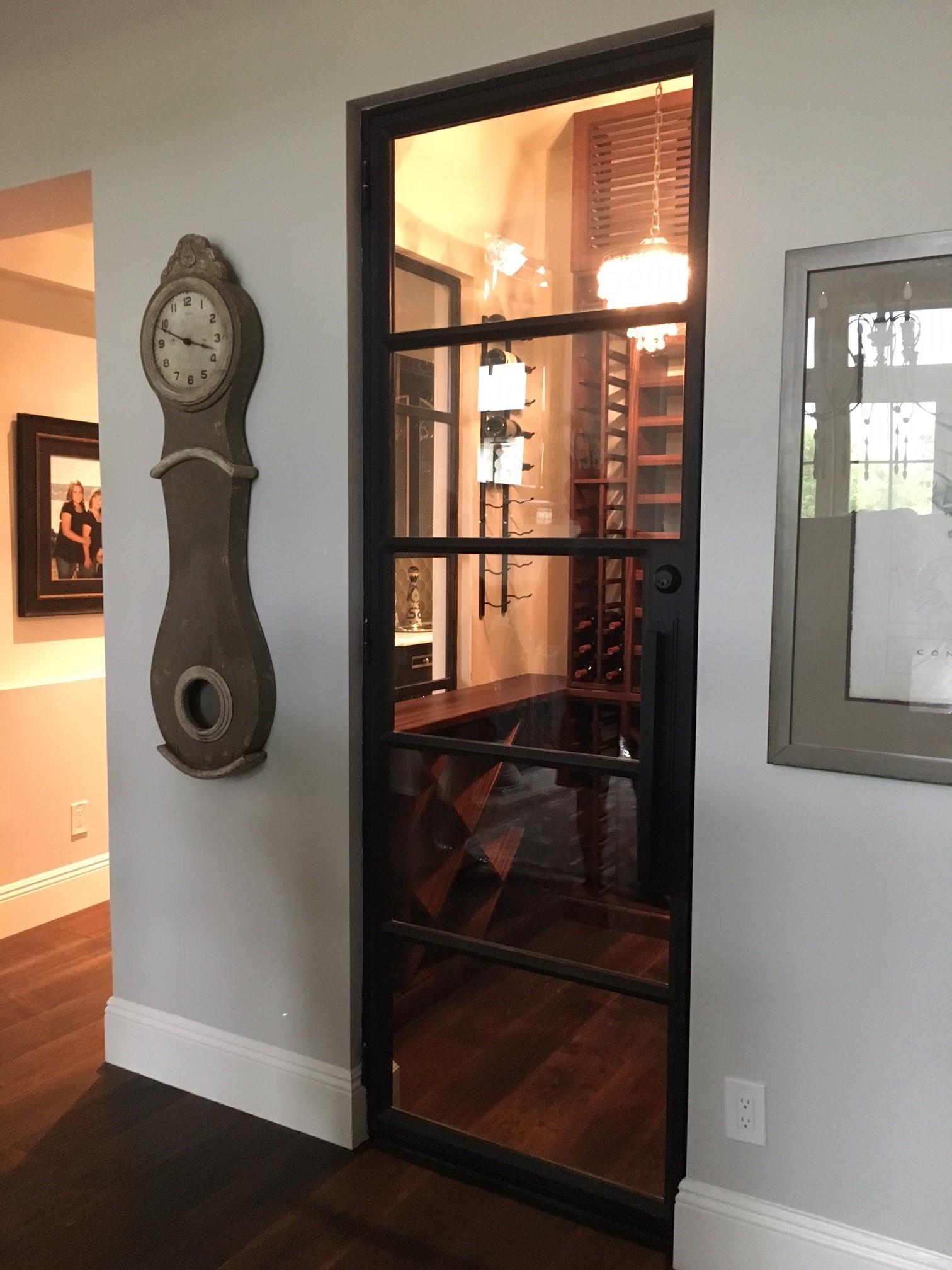 STEEL AND GLASS DOOR 8