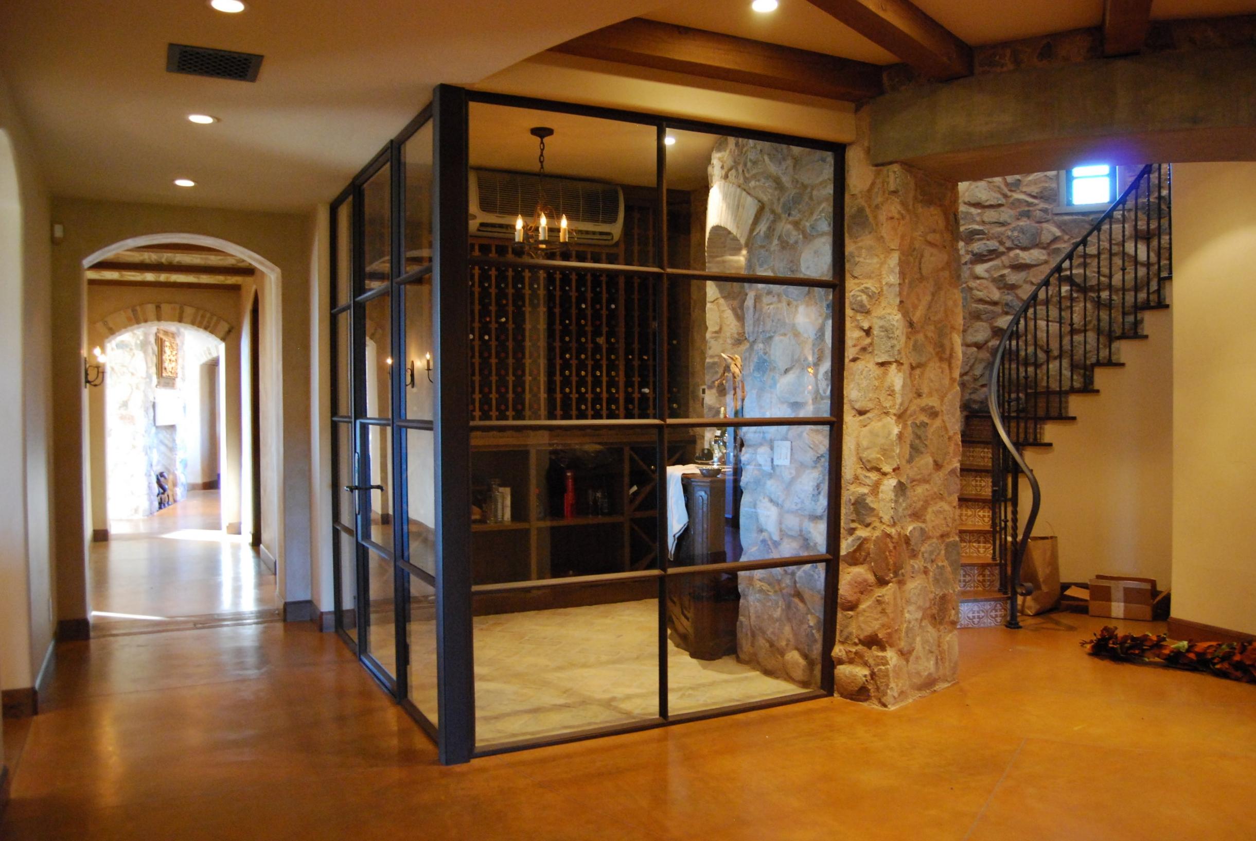 STEEL AND GLASS DOOR 3