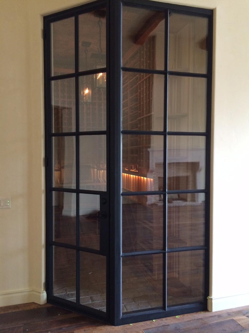 STEEL AND GLASS DOOR 14