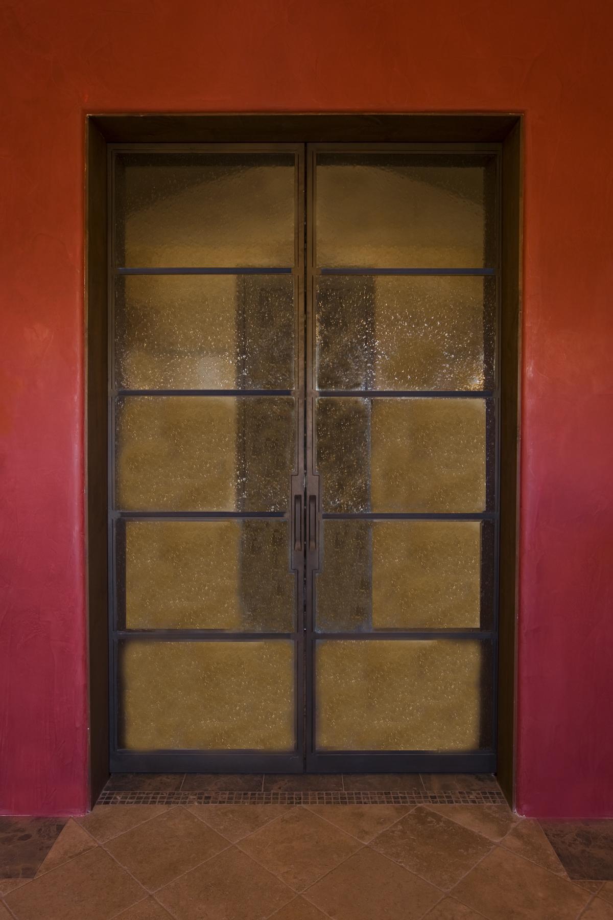 STEEL AND GLASS DOOR 15