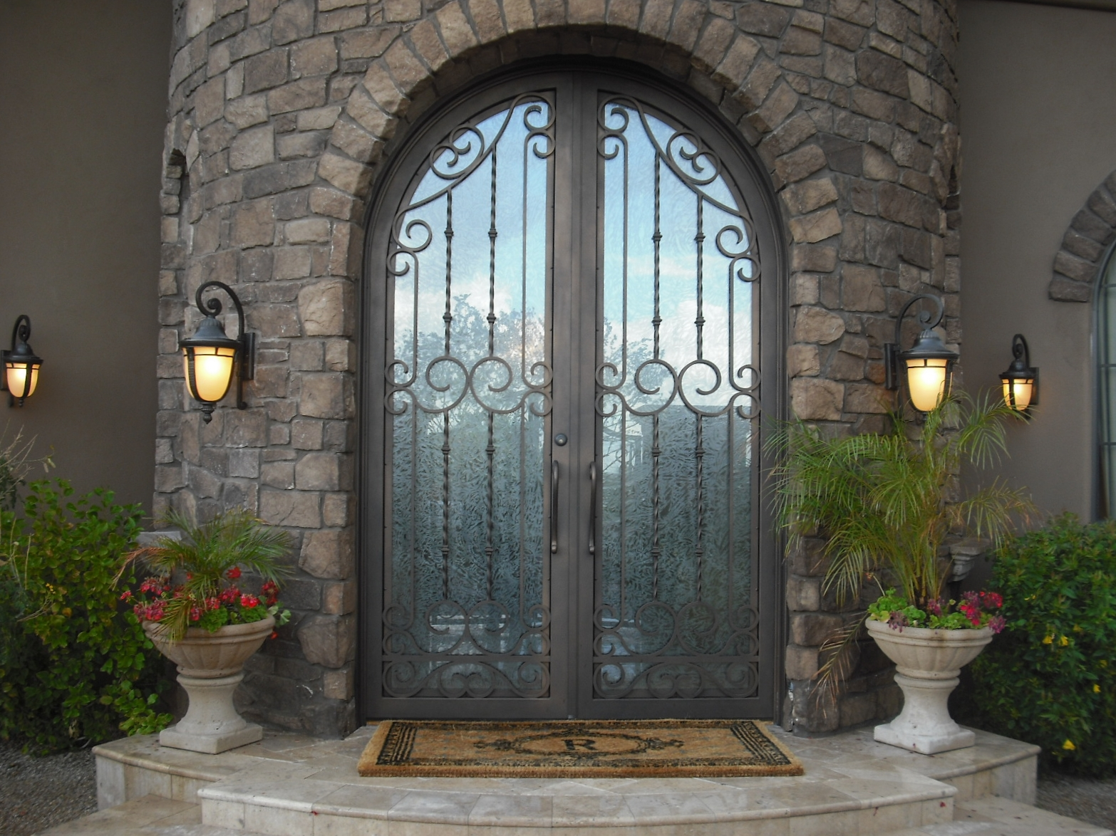 OLD WORLD IRON DOOR 14