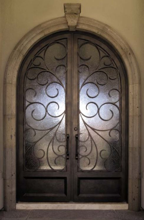 OLD WORLD IRON DOOR 7