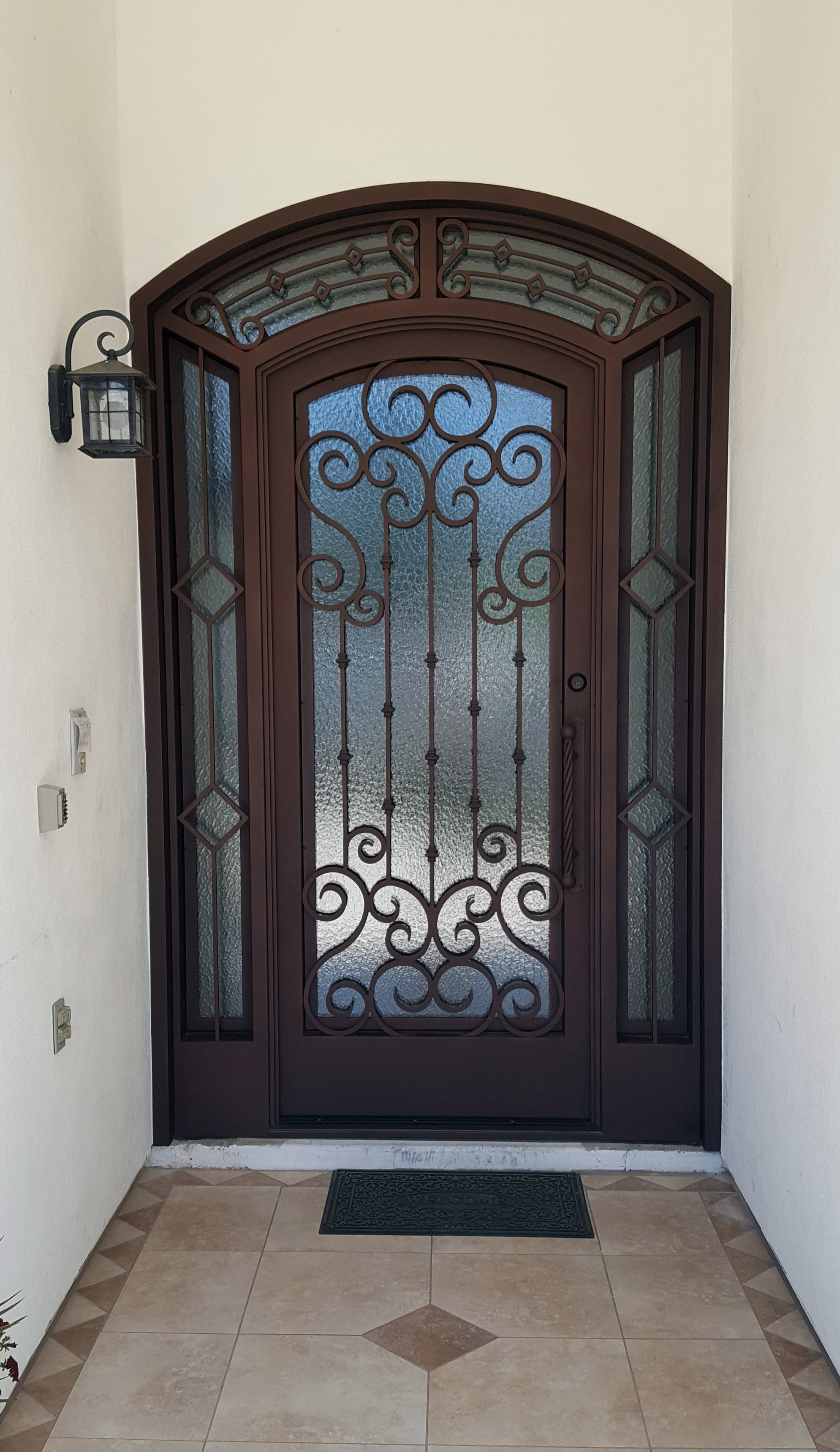 OLD WORLD IRON DOOR 10