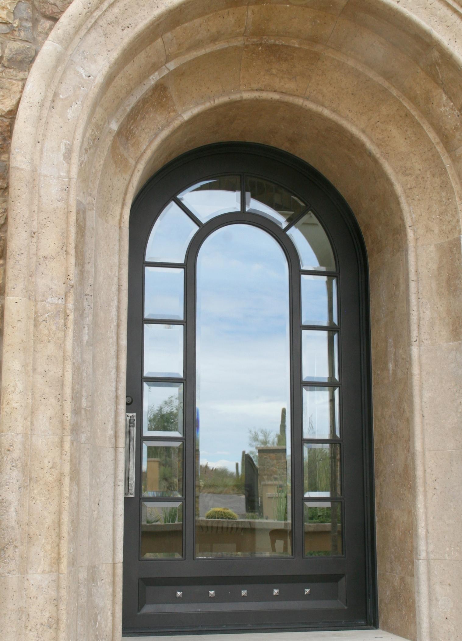 STEEL AND GLASS DOOR 16
