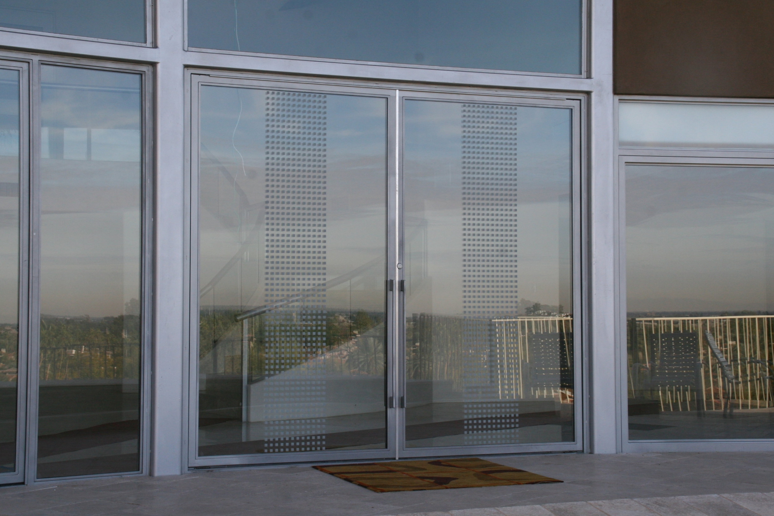COMMERCIAL IRON AND GLASS DOOR 13