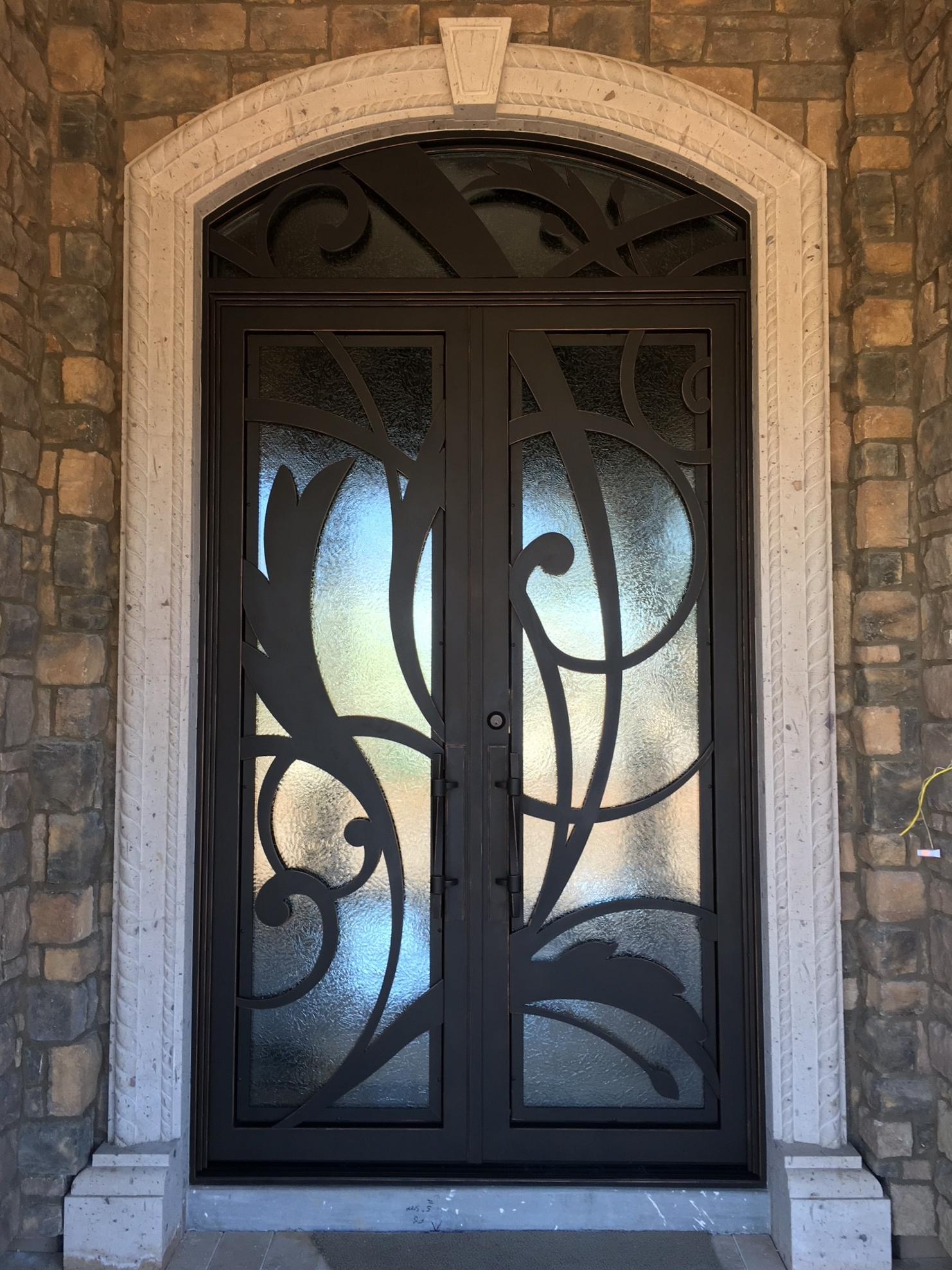 CONTEMPORARY STEEL AND GLASS DOOR 11