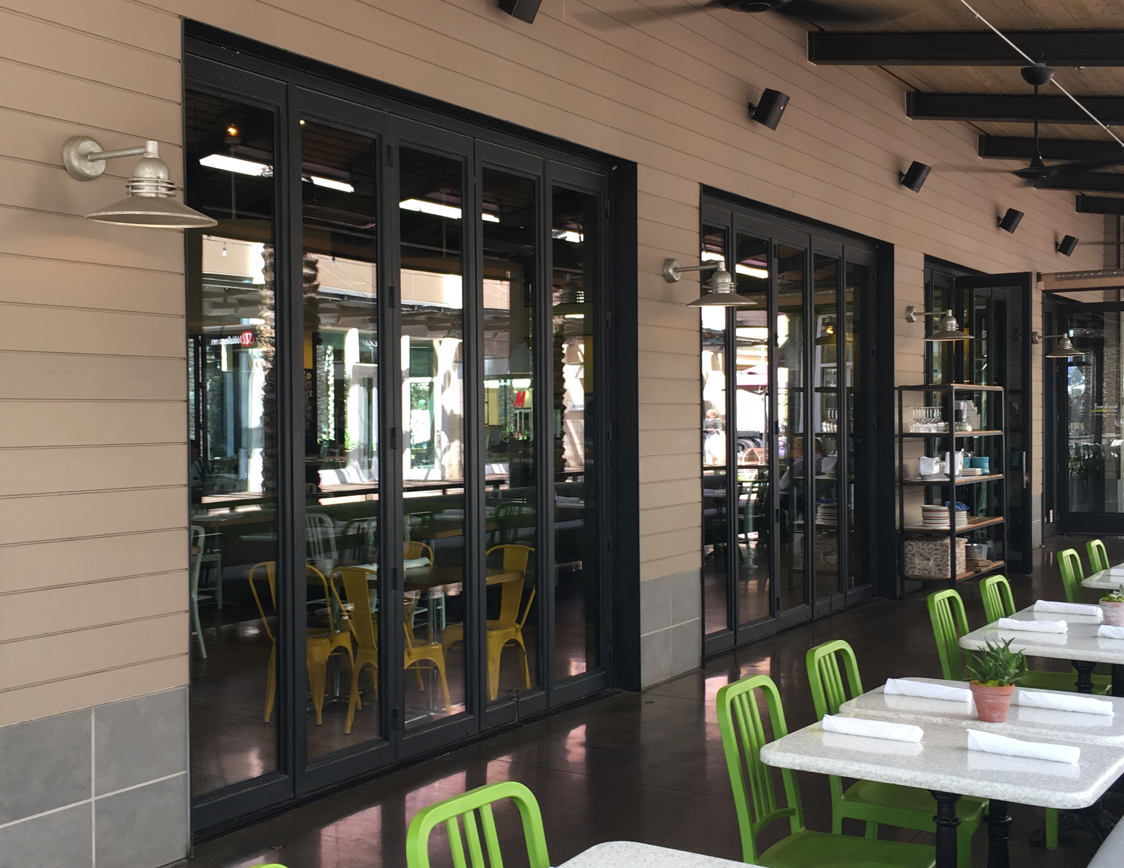 COMMERCIAL IRON AND GLASS DOOR 4