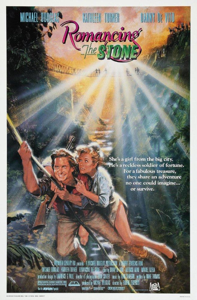 Romancing the Stone, 1984
