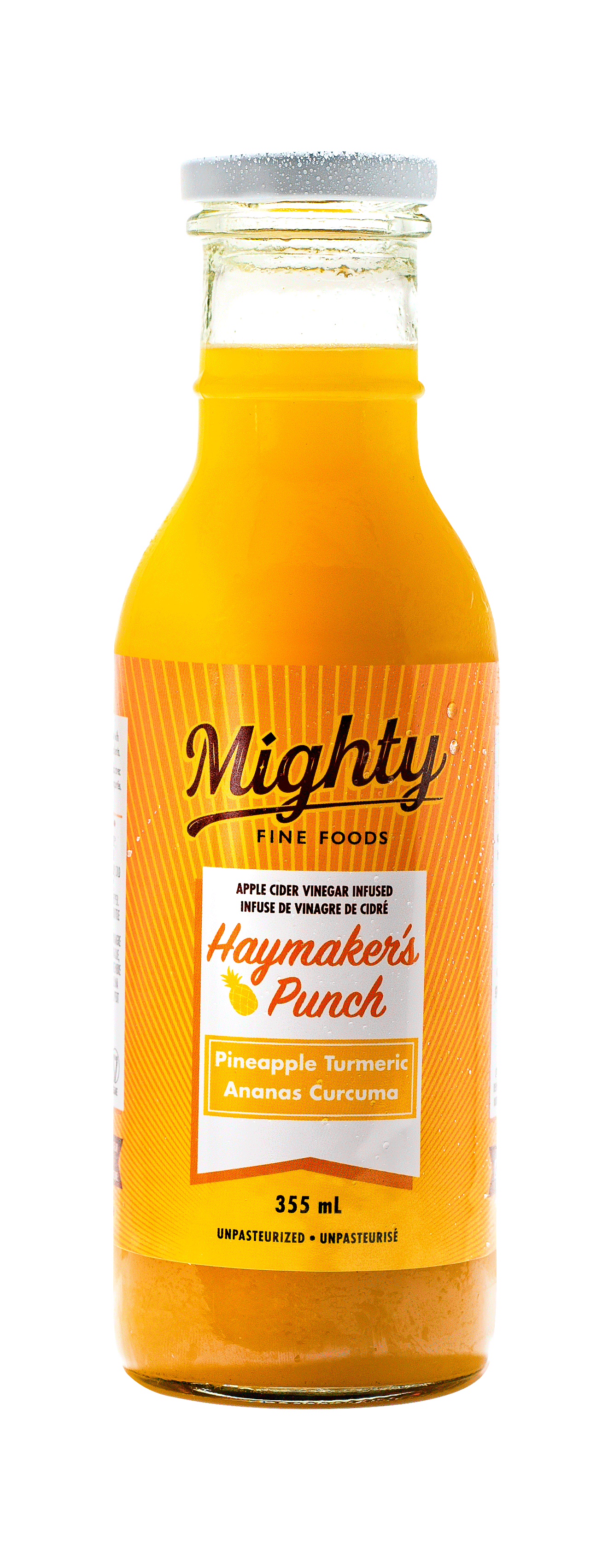 PINEAPPLE TURMERIC HAYMAKER'S PUNCH