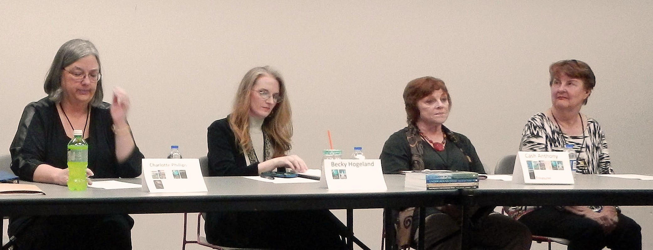 The Panel of Authors  -  Photo by Susan L. Davenport