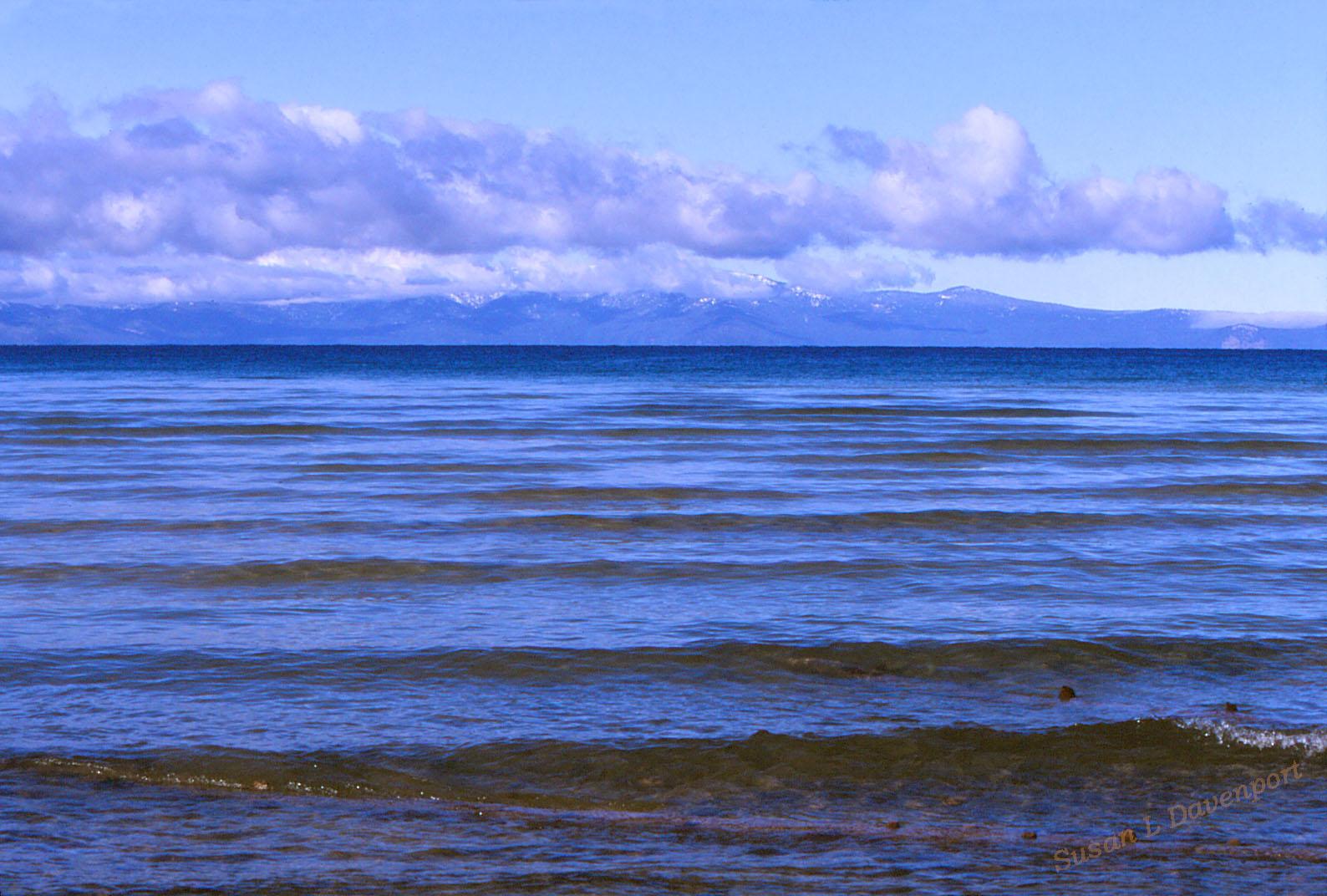 Lake Tahoe - Photo by Susan L. Davenport