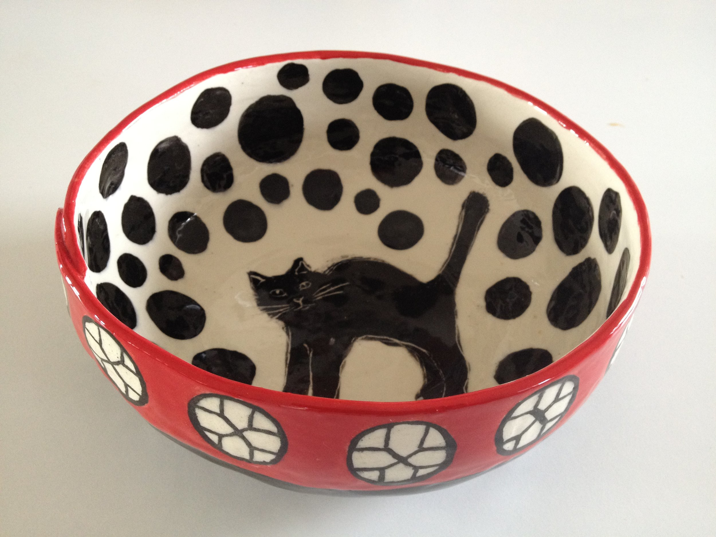Cat Bowl by Stella Spring