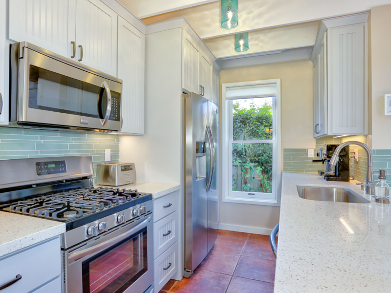 Make good use of your fully furnished kitchen when you want to stay home and nest.