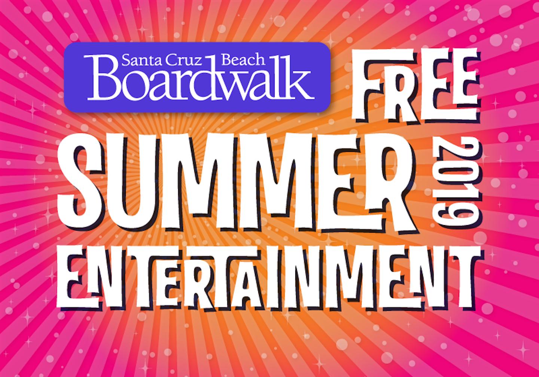 The Santa Cruz Beach Boardwalk has just announced their FREE Summer 2019 Entertainment Calendar.