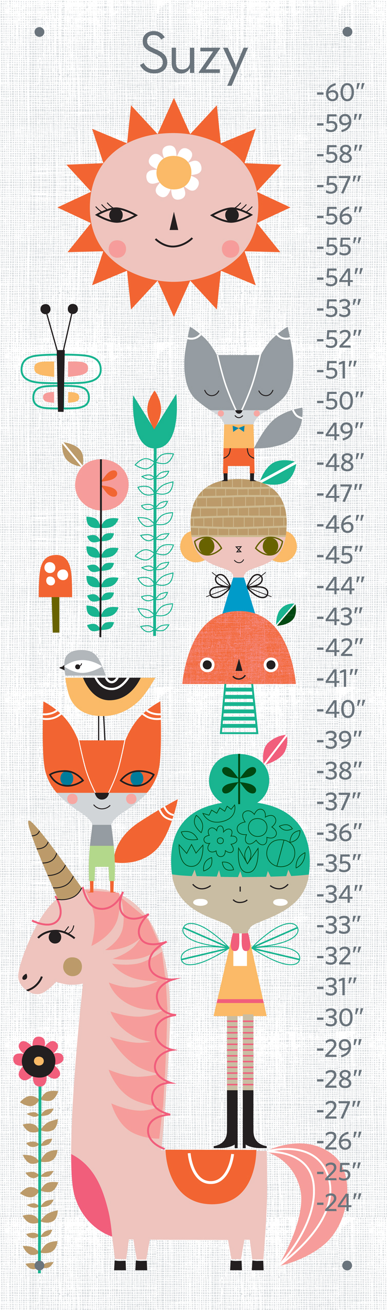 Fairytale Growth Chart