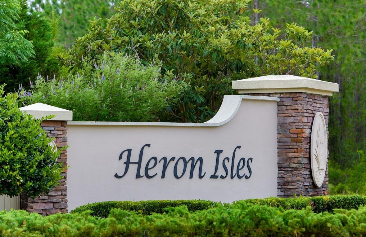 Heron Isles Owners Association    Heron Isles is a covenant-controlled community located in Yulee, Florida. Yulee is one of the furthest Northeast cities in the Jacksonville, FL area, near the Georgia border. The community is located between Chester Road and Blackrock Road in central Yulee and has over 750 homes built between 2005 and 2019.