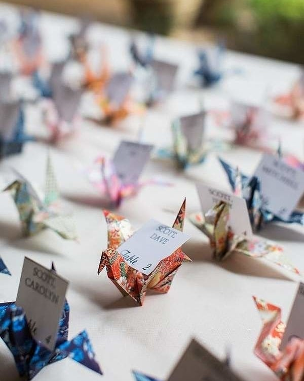 Day 3 #InstagramTakeover #InspirationisEverywhere by our final #BostonUniversity #BUhospitality student  Paper cranes represent hope and prosperity in Chinese culture. I actually would love this idea as a DIY for my future wedding. What're some of your favorite wedding DIYs?  photo via @villasiena  #weddingDIY #weddingideas #eventdesign #eventplanning #eventdecor #papercrane #origami #weddingdiydecorations  #inspoeverywherebu