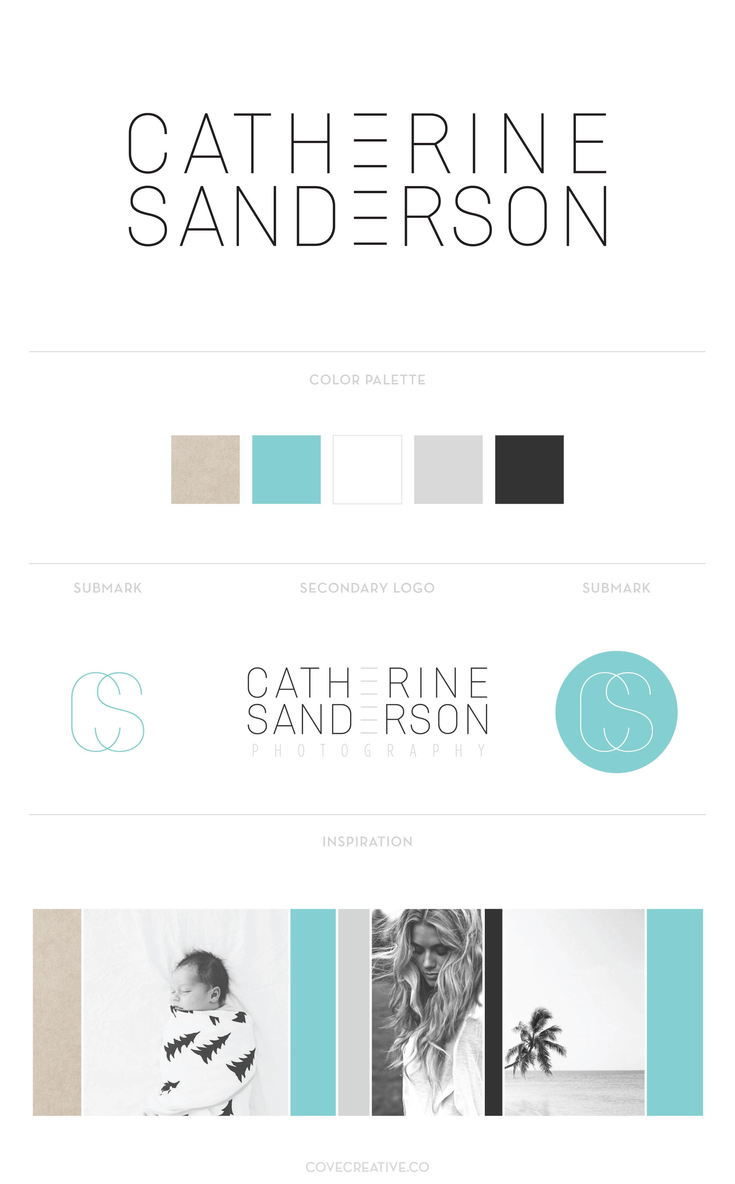 Catherine Sanderson Photography Branding Design